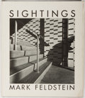 Books:Photography, [Photography]. Mark Feldstein. Sightings. Chelsea House, 1977. First edition, first printing. Publisher's cloth ...