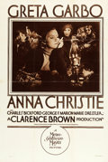 "Movie Posters:Drama, Anna Christie (MGM, 1930). Rotogravure One Sheet (28"" X 42"").. ..."