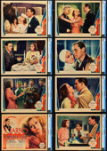"Movie Posters:Romance, The Painted Veil (MGM, 1934). CGC Lobby Card Set of 8 (11"" X 14"")..... (Total: 8 Items)"