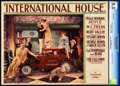 "Movie Posters:Comedy, International House (Paramount, 1933). CGC Graded Lobby Card (11"" X14"").. ..."