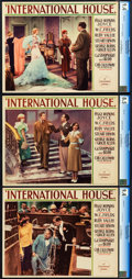 "Movie Posters:Comedy, International House (Paramount, 1933). CGC Lobby Cards (3) (11"" X14"").. ... (Total: 3 Items)"
