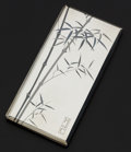 Estate Jewelry:Other , Sterling Silver Cigarette Case, K. Uyeda. ...