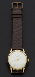Timepieces:Wristwatch, Schaffhausen International Watch Co. 18k Gold Wristwatch. ...