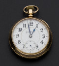 Timepieces:Pocket (post 1900), Illinois 18 Size 21 Jewel Pocket Watch. ...