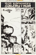 """Original Comic Art:Complete Story, Ric Estrada Our Army at War #276 Complete 6-Page """"Bob Kanigher Gallery of War"""" Story """"Rubble!"""" Original Art (DC, 1... (Total: 6 Original Art)"""