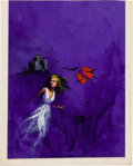 Original Comic Art:Covers, Whistle for the Crows Paperback Cover Original Art(1967)....