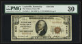 National Bank Notes:Kentucky, Louisville, KY - $10 1929 Ty. 1 The Citizens Union NB Ch. # 2164....