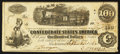 Confederate Notes:1862 Issues, T39 $100 1862. PF-13 Cr. 294. . ...