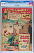 Golden Age (1938-1955):Miscellaneous, Captain Marvel and the Lieutenants of Safety #2 File Copy (Fawcett, 1950) CGC NM- 9.2 Off-white pages....