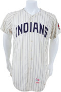 Baseball Collectibles:Uniforms, 1970-71 Fred Lasher Game Worn Cleveland Indians Jersey. ...