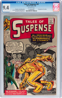 Tales of Suspense #41 (Marvel, 1963) CGC NM 9.4 Off-white pages