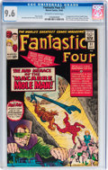 Silver Age (1956-1969):Superhero, Fantastic Four #31 (Marvel, 1964) CGC NM+ 9.6 Off-white to white pages....