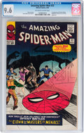 Silver Age (1956-1969):Superhero, The Amazing Spider-Man #22 (Marvel, 1965) CGC NM+ 9.6 Off-white towhite pages....