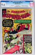 Silver Age (1956-1969):Superhero, The Amazing Spider-Man #14 (Marvel, 1964) CGC NM+ 9.6 Off-white to white pages....