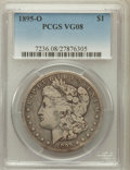 Morgan Dollars: , 1895-O $1 VG8 PCGS. PCGS Population (178/4798). NGC Census:(99/4153). Mintage: 450,000. Numismedia Wsl. Price for problem ...