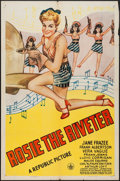 """Movie Posters:Musical, Rosie the Riveter (Republic, 1944). One Sheet (27"""" X 41"""").Musical.. ..."""