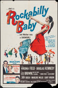 """Movie Posters:Rock and Roll, Rockabilly Baby (20th Century Fox, 1957). One Sheet (27"""" X 41"""")& Lobby Card Set of 8 (11"""" X 14""""). Rock and Roll.. ... (Total:9 Items)"""