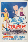 """Movie Posters:Adventure, Oasis and Other Lot (20th Century Fox, 1955). One Sheets (2) (27"""" X41""""). Adventure.. ... (Total: 2 Item)"""