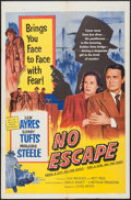 """Movie Posters:Crime, No Escape & Others Lot (United Artists, 1953). One Sheets (3)(27"""" X 41""""). Crime.. ... (Total: 3 Items)"""