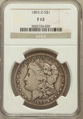 Morgan Dollars: , 1893-O $1 Fine 12 NGC. NGC Census: (66/2239). PCGS Population(69/3150). Mintage: 300,000. Numismedia Wsl. Price for proble...