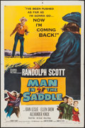 "Movie Posters:Western, Man in the Saddle (Columbia, R-1959). One Sheet (27"" X 41""). Western.. ..."