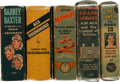 Big Little Book:Miscellaneous, Big Little Book Airplane Related Group (Whitman, 1930s) Condition:Average VG/FN.... (Total: 5 Comic Books)