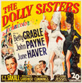 """Movie Posters:Musical, The Dolly Sisters (20th Century Fox, 1945). Six Sheet (80"""" X 81"""").From the collection of GLG.. ..."""