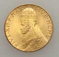Vatican City, Vatican City: Pius XII Mint Set with gold 100 Lire 1950,... (Total:5 coins)