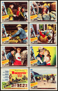 """Movie Posters:Western, Winchester '73 (Universal International, 1950). Lobby Card Set of 8 (11"""" X 14"""").. ... (Total: 8 Items)"""