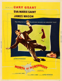 """North by Northwest (MGM, 1959). Poster (30"""" X 40"""")"""