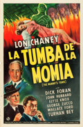 "Movie Posters:Horror, The Mummy's Tomb (Universal, 1942). Spanish Language One Sheet (27""X 41"").. ..."