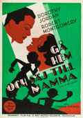 "Movie Posters:Comedy, Love in the Rough (MGM, 1930). Swedish One Sheet (27.5"" X 39.5"")....."