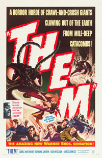 """Them! (Warner Brothers, 1954). One Sheet (27"""" X 41"""")"""