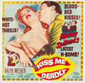 """Movie Posters:Film Noir, Kiss Me Deadly (United Artists, 1955). Six Sheet (81"""" X 81"""").. ..."""