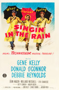 "Movie Posters:Musical, Singin' in the Rain (MGM, 1952). Autographed One Sheet (27"" X 41""). From the collection of GLG.. ..."