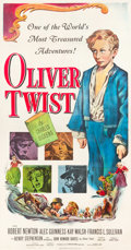 "Movie Posters:Drama, Oliver Twist (Eagle Lion, 1951). Three Sheet (41"" X 79"").. ..."