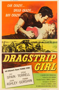 "Movie Posters:Bad Girl, Dragstrip Girl (American International, 1957). Poster (40"" X 60"")....."