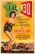 "Movie Posters:Comedy, The French Line (RKO, 1954). Poster (40"" X 60"") 3-D Style Y.. ..."