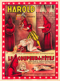 "Movie Posters, Harold Presents Le Coupeur de Tetes (1920s). French Grande (47"" X63"").. ..."