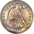 Seated Dollars, 1851 $1 AU58 PCGS....