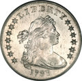Early Dollars, 1798 $1 Large Eagle, Pointed 9 AU58 PCGS. B-24a, BB-124, R.2....
