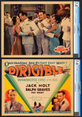 "Movie Posters:Adventure, Dirigible (Columbia, 1931). CGC Graded Title Lobby Card & LobbyCard (11"" X 14"").. ... (Total: 2 Items)"