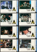 """Movie Posters:Science Fiction, A Clockwork Orange (Warner Brothers, 1971). CGC Graded Lobby CardSet of 8 (11"""" X 14"""").. ... (Total: 8 Items)"""