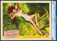 "Cover Girl (Columbia, 1944). CGC Graded Lobby Card (11"" X 14"")"