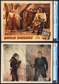 "Movie Posters:Photo, Douglas Fairbanks Lot (United Artists, 1920 & 1921). CGC Graded Lobby Cards (2) (11"" X 14"").. ... (Total: 2 Items)"