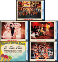 "Singin' in the Rain (MGM, 1952). CGC Graded Deluxe Lobby Card Set of 10 (11"" X 14""). ... (Total: 10 Items)"