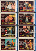 "Movie Posters:Romance, Roman Holiday (Paramount, 1953). CGC Graded Lobby Card Set of 8(11"" X 14"").. ... (Total: 8 Items)"