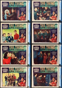 "The Thing from Another World (RKO, 1951). CGC Graded Lobby Card Set of 8 (11"" X 14""). ... (Total: 8 Items)"