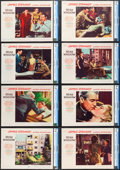 """Movie Posters:Hitchcock, Rear Window (Paramount, 1954). CGC Graded Lobby Card Set of 8 (11""""X 14"""").. ... (Total: 8 Items)"""