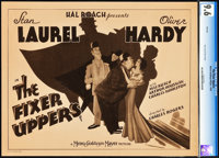 """The Fixer Uppers (MGM, 1935). CGC Graded Title Lobby Card (11"""" X 14"""")"""
